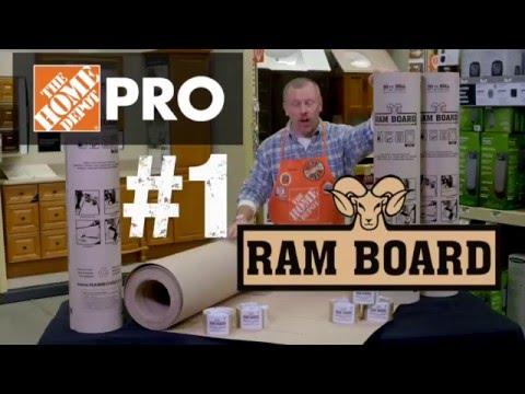 Ram Board Temporary Floor Protection Roll - The Home Depot