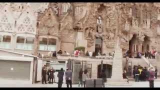 ИСПАНИЯ: Саграда Фамилия... Барселона... Испания Sagrada de Familia(Путешествие в Голливуд: ИСПАНИЯ Ответы на вопросы http://anzortv.com/forum Смотрите всё путешествие на моем блоге..., 2013-01-31T23:16:39.000Z)