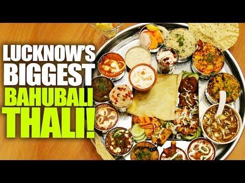 Bahubali Thali At Urban Dhaba, Lucknow | Curly Tales