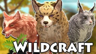 New WILD ANIMAL Collection, Dens, and Pets!!  WildCraft Update!!