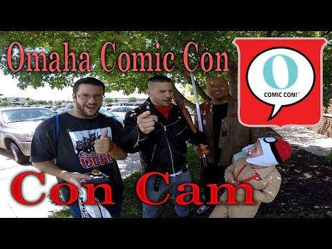 Omaha Comic Con 2017 -- Con Cam!!!