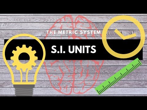 SI Units- Science Skill 1 of 9!