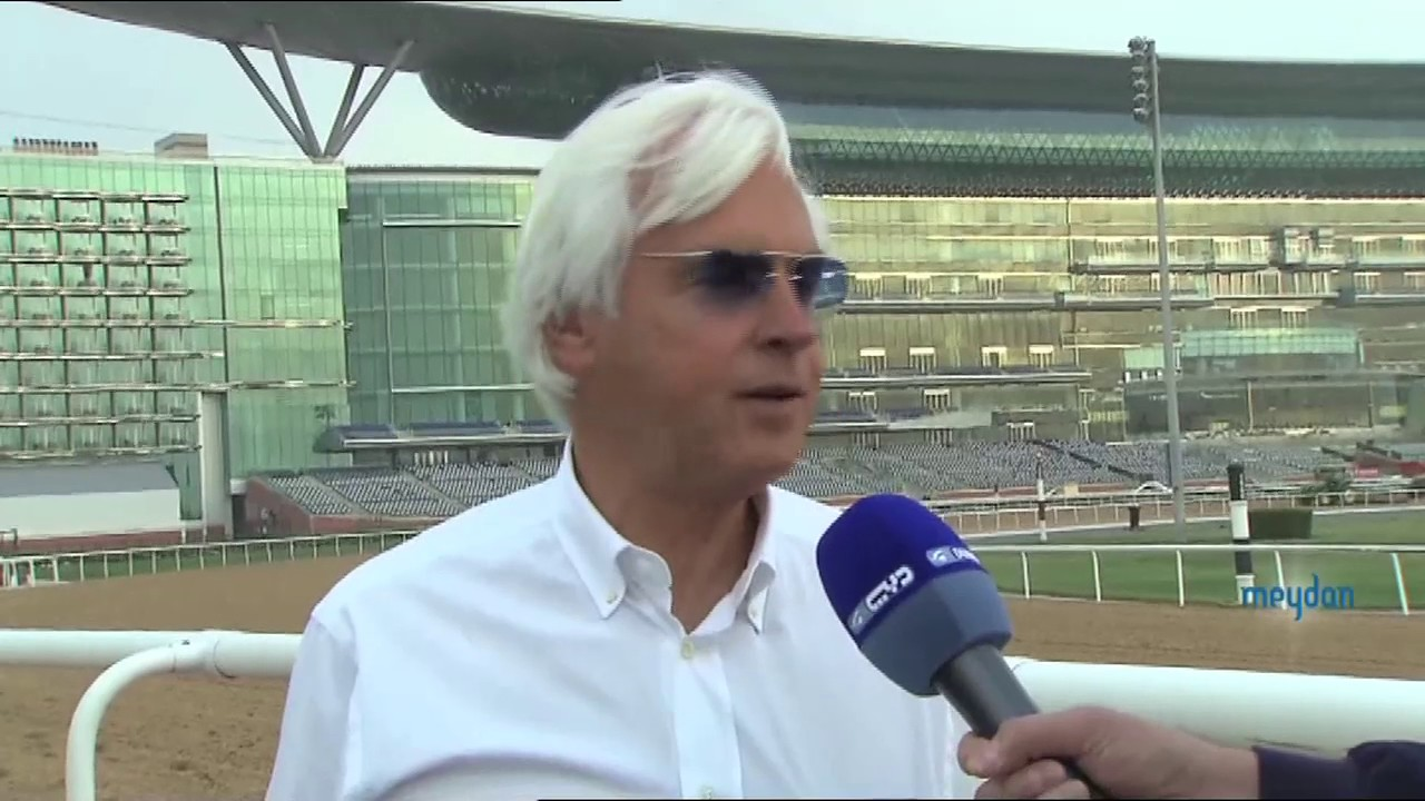 Bob Baffert on his DWC favourite Arrogate - YouTube