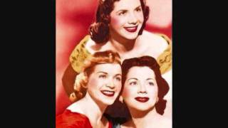 The Fontane Sisters - Jealous Heart (1958)
