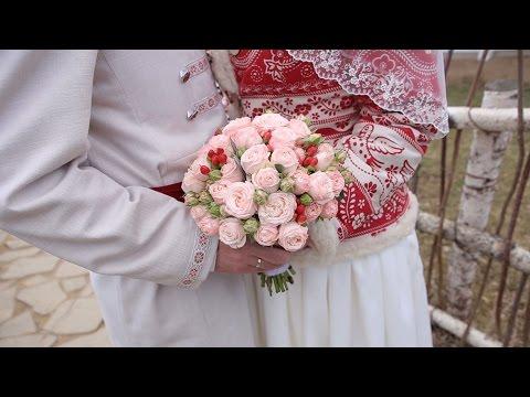 Свадьба в Русском стиле Марины и Михаила