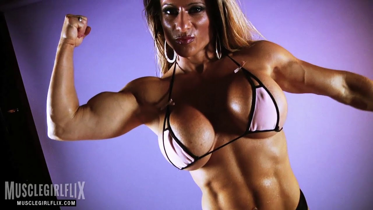 Fitness model huge tits