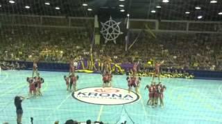 Hellgirls Cheerleading - Desafio de Cheerleaders Engenhariadas Paranaense 2015 - Terceiro lugar