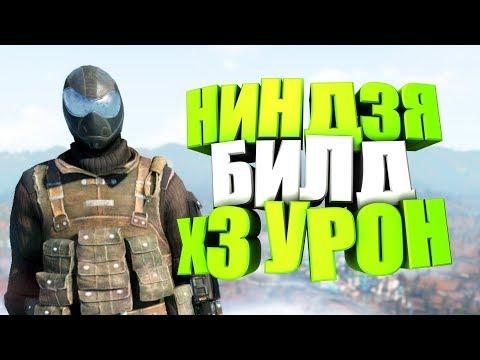 Fallout 76: НИНДЗЯ С УРОНОМ х3, БИЛД ДЛЯ НОВИЧКА, СТЕЛС ОПТИЧЕСКИЙ СЕТ, ГАЙД, СОВЕТЫ (NINJA build) thumbnail