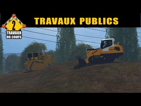 Farming simulator 15 / travaux publics / by FT MODDING /épis