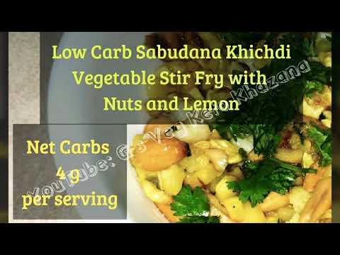 sabudana-khichdi-usal-,-easy-vegan-keto-diet-recipe-low-carb-vegan-,-vrat,-upvaas