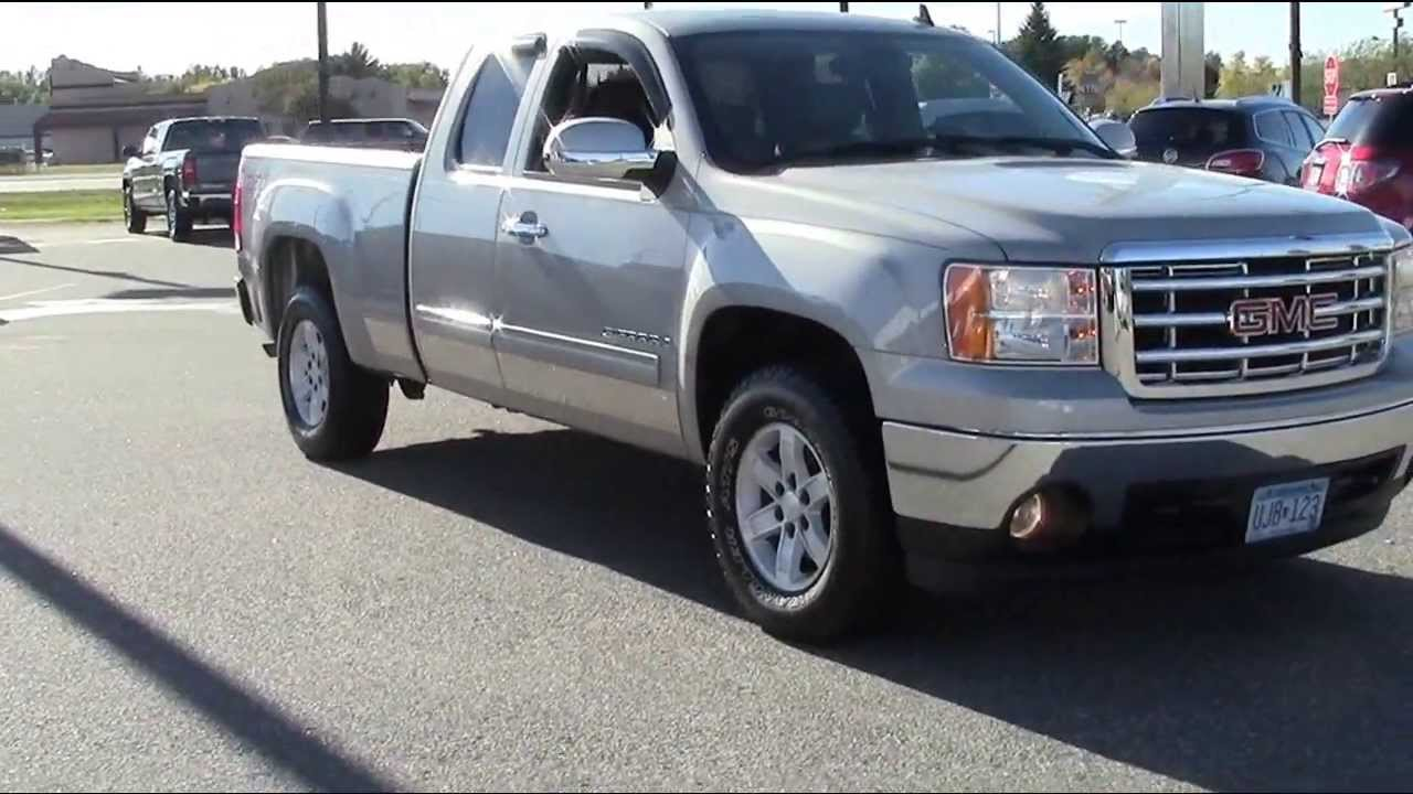 2007 Gmc Sierra For Sale >> 2007 Gmc Sierra 1500 Ext Cab Slt 4wd