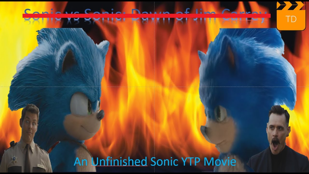 Ytp Sonic And The Unfinished Hedgehog Movie Youtube