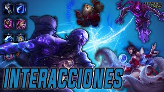 Ryze | Interacciones a campeones y objetos (Latino) [League of Legends]