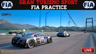 GT Sport - FIA Practice Lobby & Testing New Cars