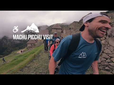 Accessible Travel - MACHU PICCHU in a Wheelchair in 60 seconds