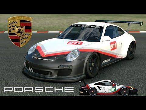 Real Racing 3 Car Customization: Porsche 911 GT3 Cup | 2017 Porsche 911 RSR Le Mans