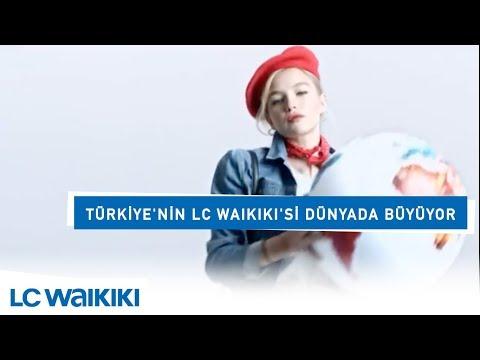 Türkiye'nin LC Waikiki'si dünyada büyüyor.