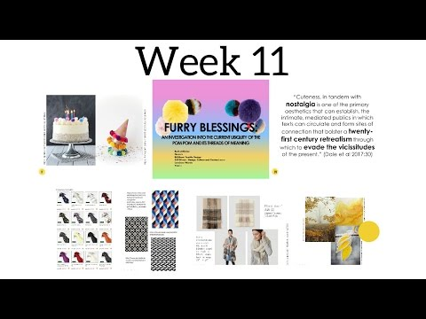 Week 11 NTU Textile Design | 13.1.17