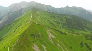 Tatry z lotu drona
