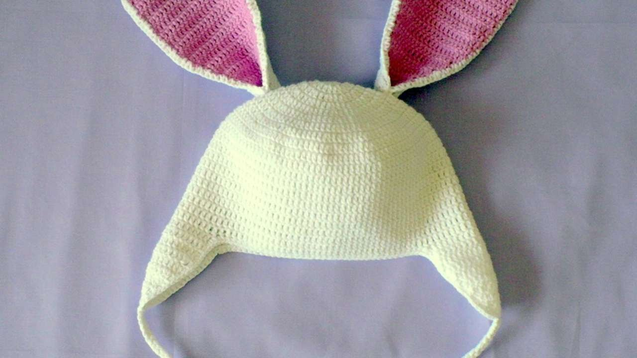 How To Create A Cute Crochet Hat With Bunny Ears  Diy Style Tutorial   Guidecentral