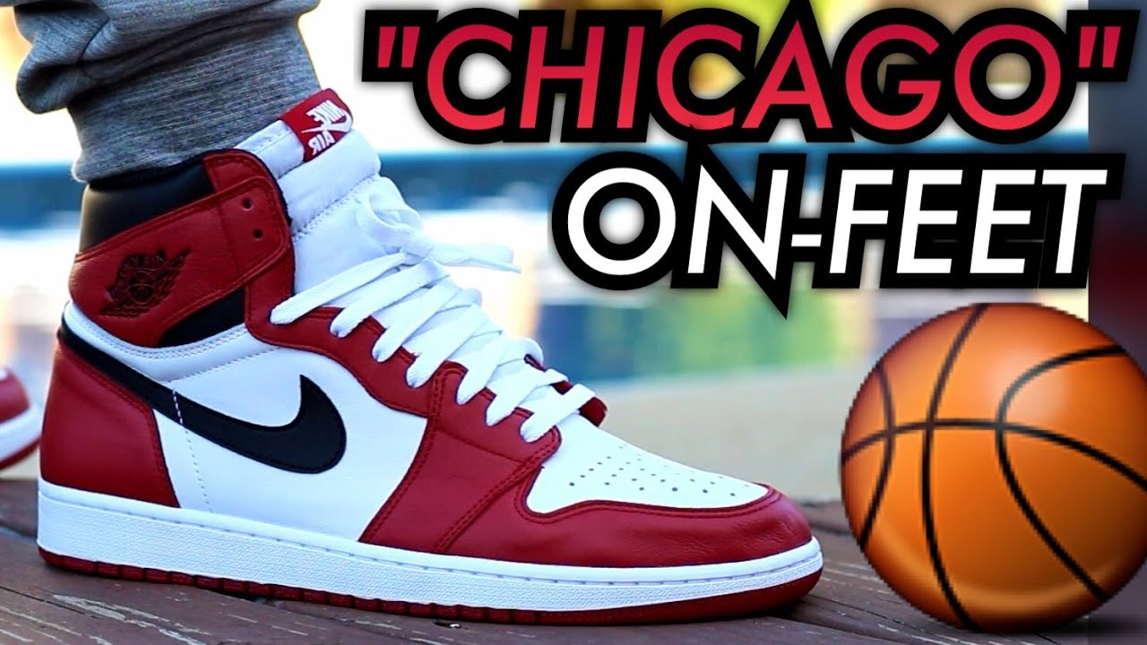 2015 Chicago Air Jordan 1 W On Feet Review