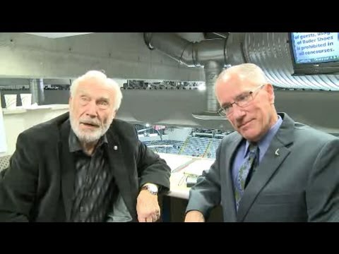 Two hockey broadcasting legends call Komets game