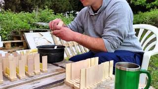 Making apidea hives ready