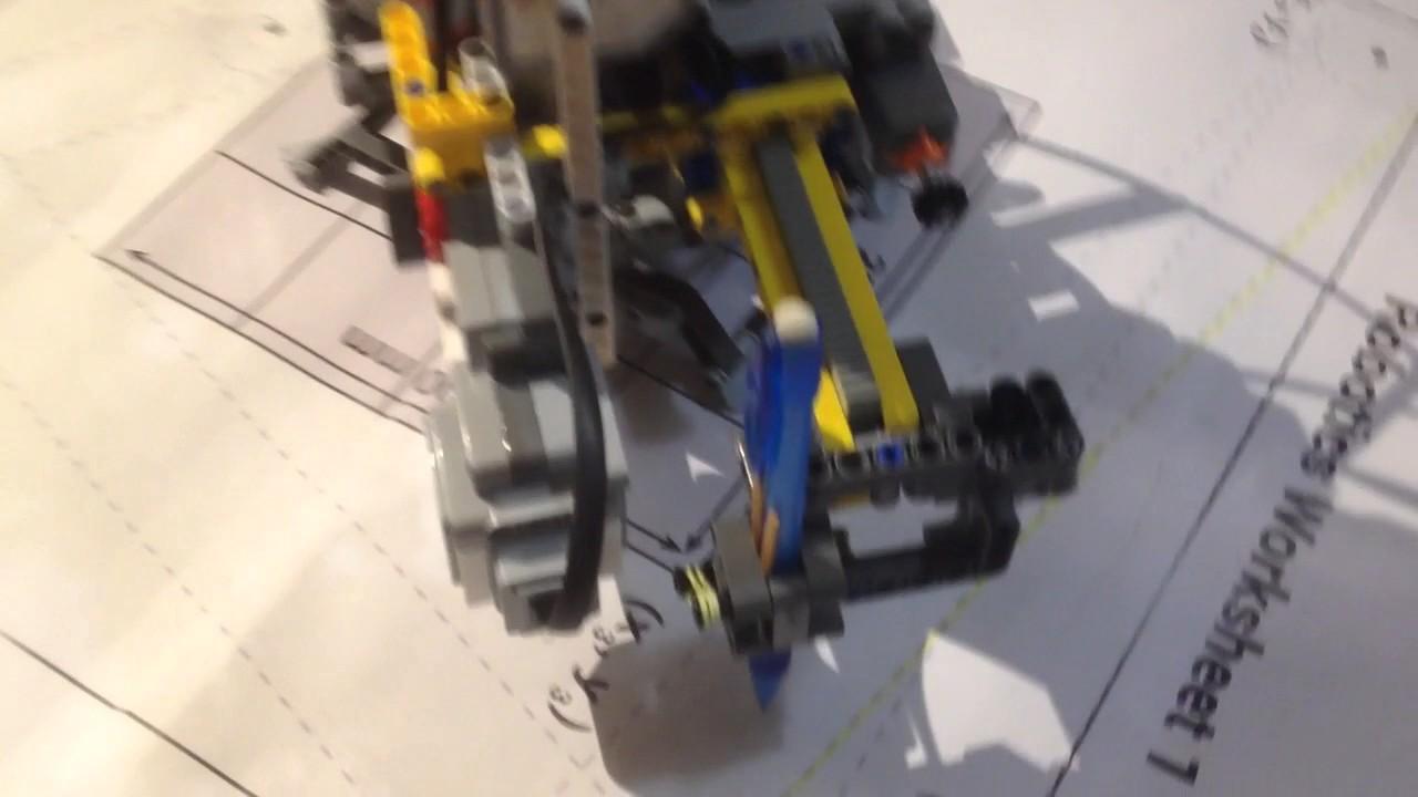 Lego EV3 Robot QUT MOOC 2016 Final Project