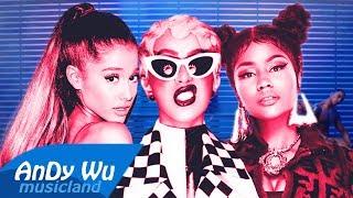 I LIKE IT / SIDE TO SIDE - Cardi B, Nicki Minaj, Ariana Grande ft. Bad Bunny, J Balvin