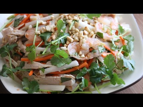 Vietnamese Lotus Root Salad (Goi Ngo Sen Tom Thit) Recipe