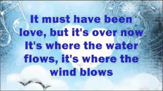 Roxette - It Must Have Been Love (Lyrics on Screen)