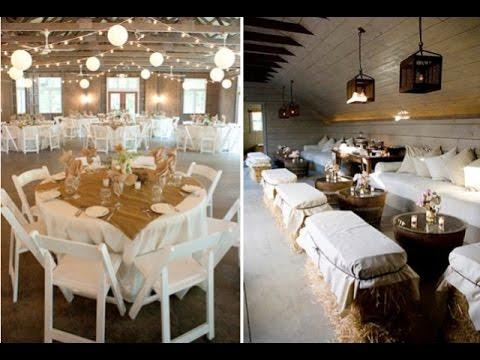 Country Barn Wedding Decoration Ideas Youtube