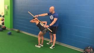 Wall And Dowel Tests Hip Hinge