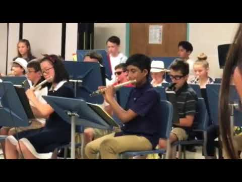 Sykesville Middle School Jazz Band Concert 2018