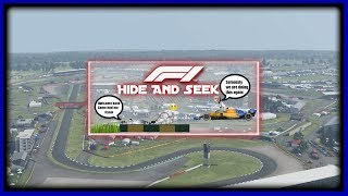 Playing Hide And Seek On F1 2019