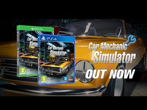 Car Mechanic Simulator XB1/PS4 - Launch Trailer