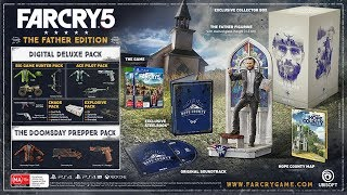 Far Cry 5 - Mondo & The Father Edition Unboxing!