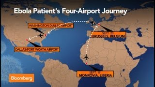 Ebola Patient in Dallas Took Path Through Four Airports, Three Continents