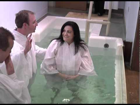 Cris & Brandi Weir Baptisms