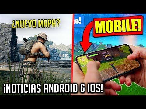 Nuevo MAPA PUBG? FORTNITE Android y GTA 5 actualizacion! | NOTICIAS ANDROID & iOS!