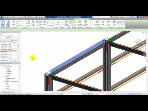 11-Y1-Steel-Revit-Draw Purlins