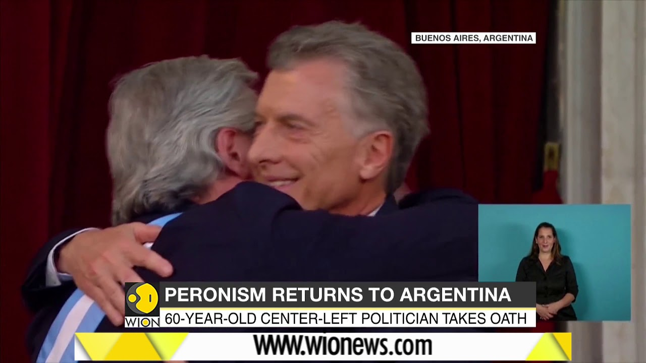Peronism returns to Argentina as Alberto Fernandez sworn in as President