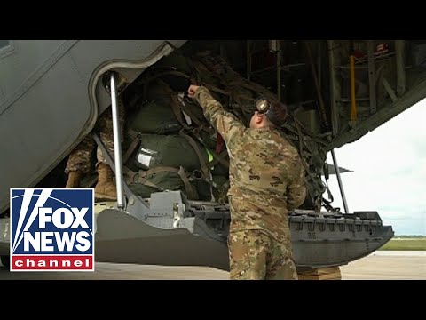 Raw Video: Troops,