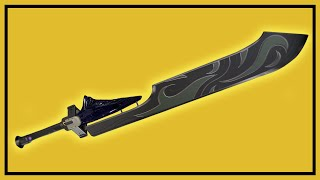 Destiny Taken King: How to Get an Exotic Sword (Raze Lighter, Bolt Caster, Dark Drinker)