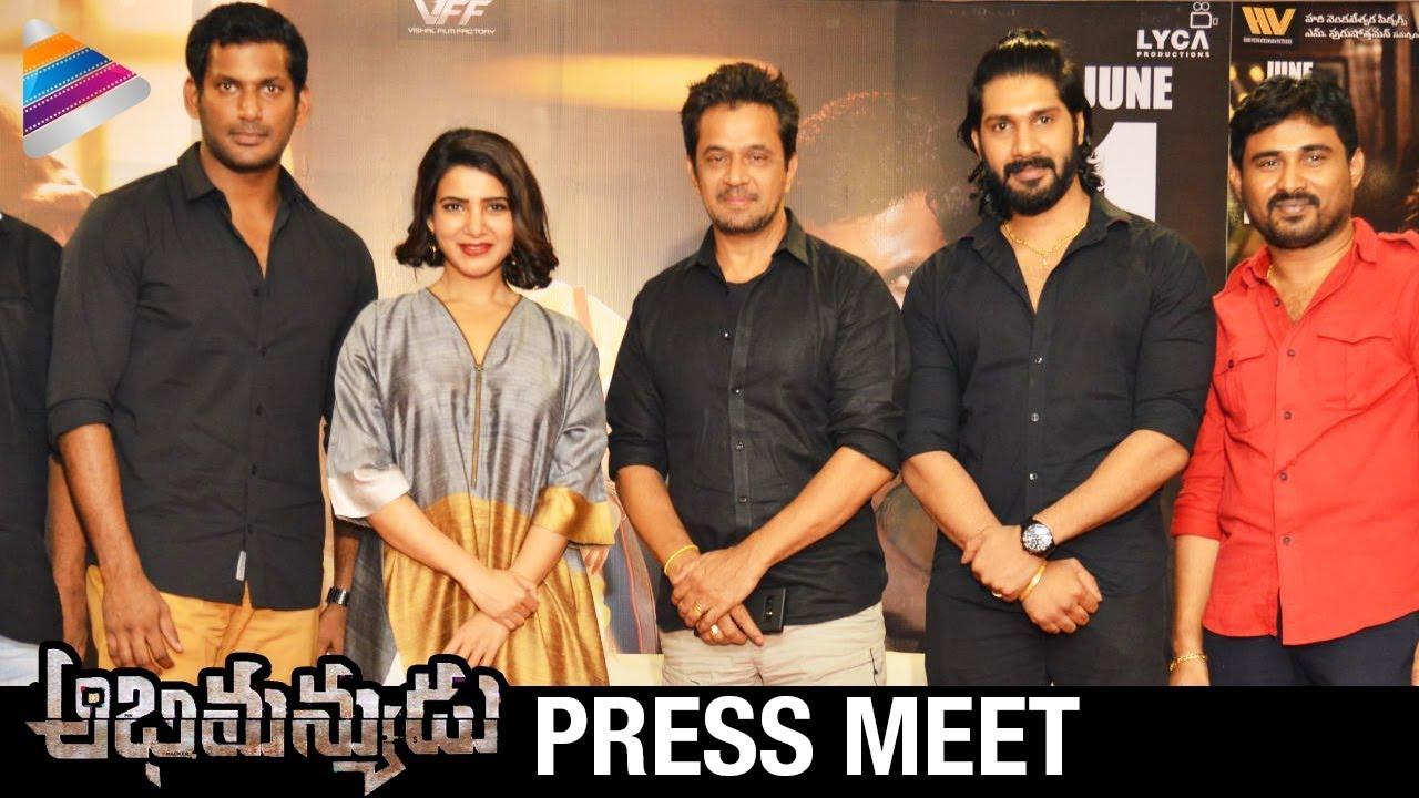 Abhimanyudu Movie Telugu Download Hd: Abhimanyudu Movie Press Meet