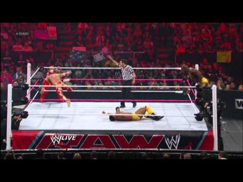 Rey Mysterio & Sin Cara Vs. The Prime Time Players - WWE Tag Team Title No. 1 Contenders' Tournament