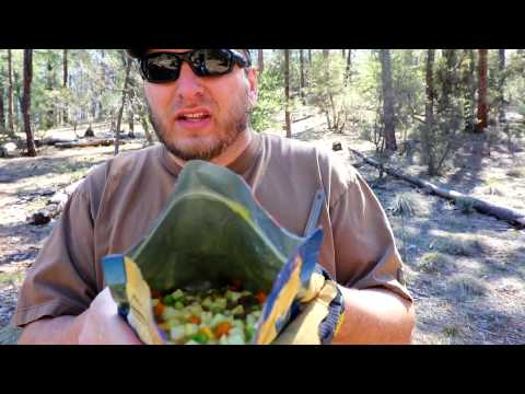 Hot meal No Campfire needed   Solo Forest adventure