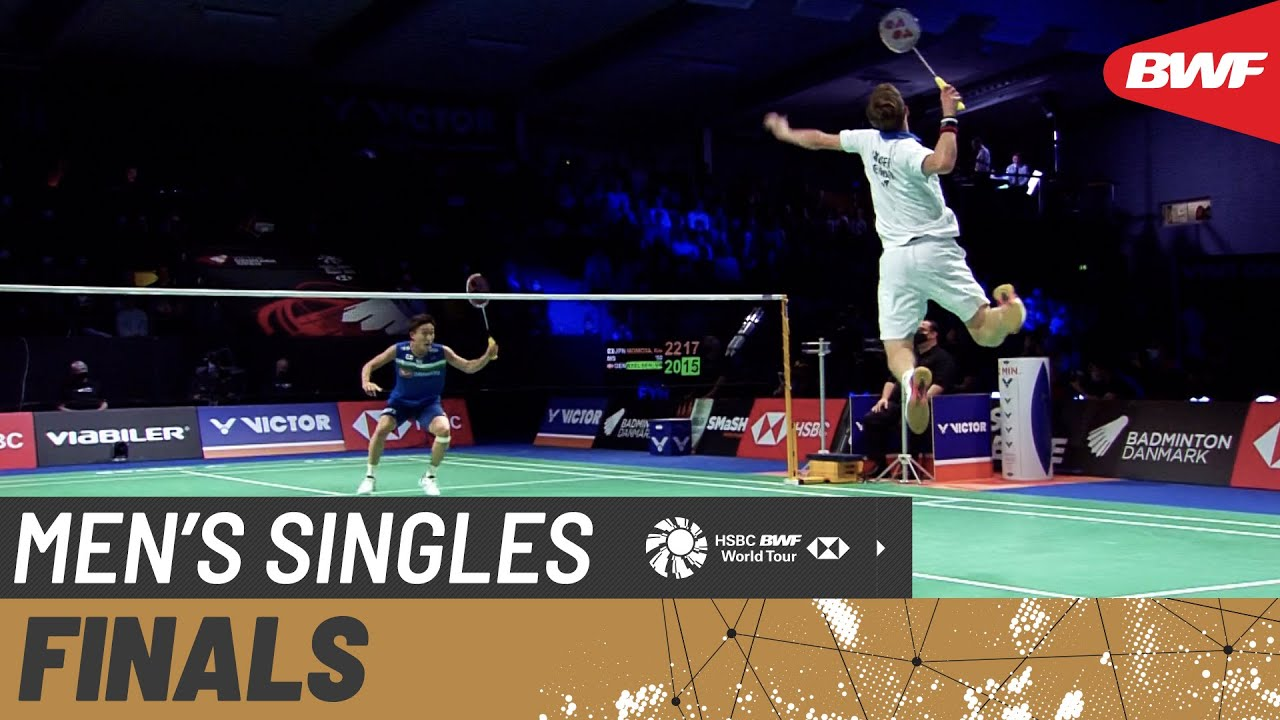Download VICTOR Denmark Open 2021 | Kento Momota (JPN) [1] vs Viktor Axelsen (DEN) [2] | Finals