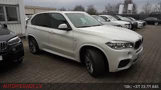 BMW X5 xDrive 30d M Sportpaket 7 vietas, 2015. gads, no Autohaus