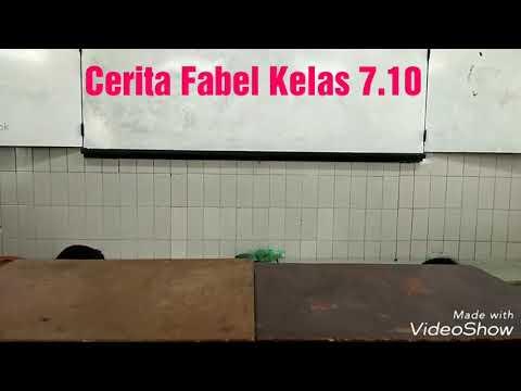 Download Nathania Alantha Cerita Fabel Monyet Gajah Dan Kerbau Smp
